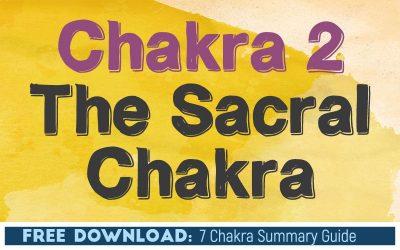 Chakra 2 The Sacral Chakra