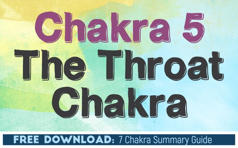 Chakra 5 The Throat Chakra