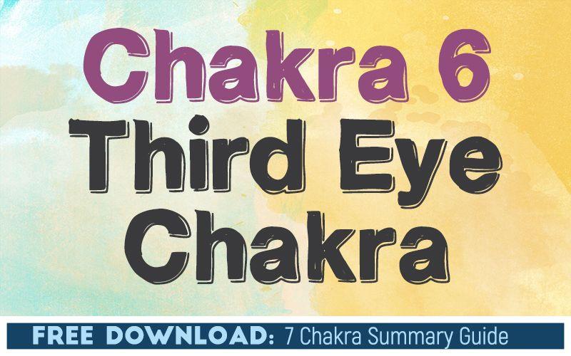 Chakra 6 The Third Eye Chakra