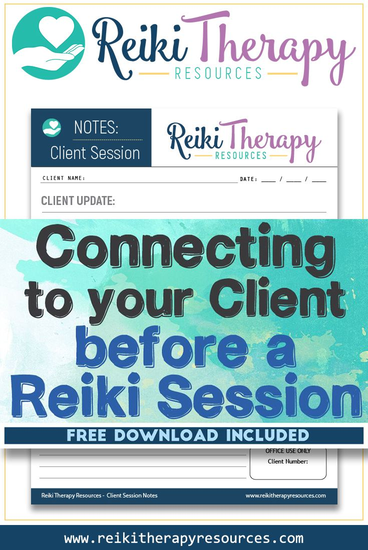 Connecting To Your Client Before a Reiki Session