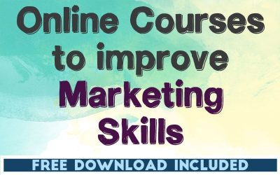 Online Courses to Improve Your Marketing Skills