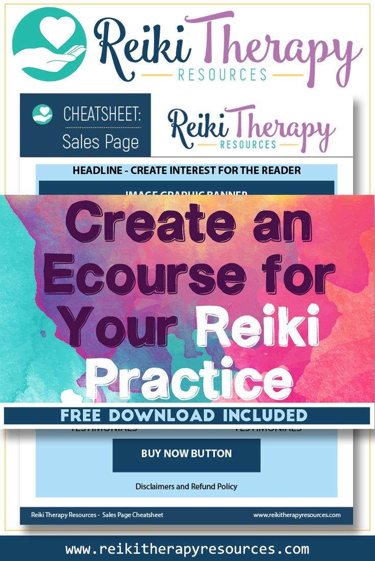 How Do I Create an Ecourse for my Reiki Practice