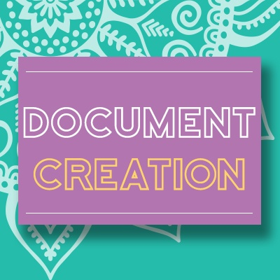 Document creation service