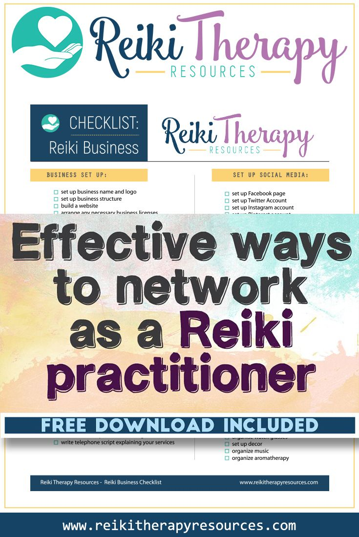 Effective Ways to Network as a Reiki Practitioner