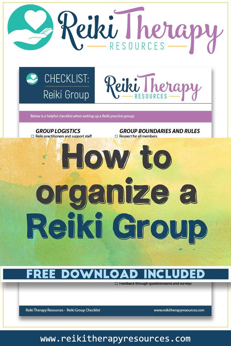 How To Organize a Reiki Group