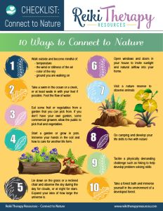 Connecting to Nature with Reiki