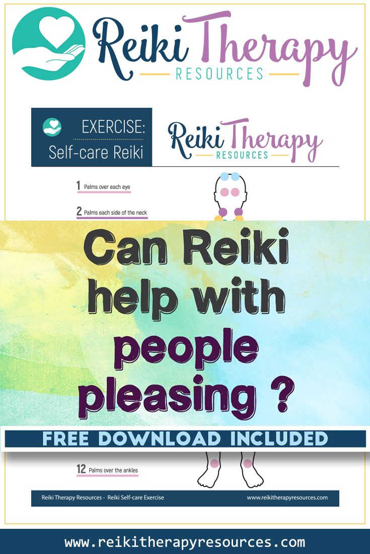 Can Reiki Help with People Pleasing