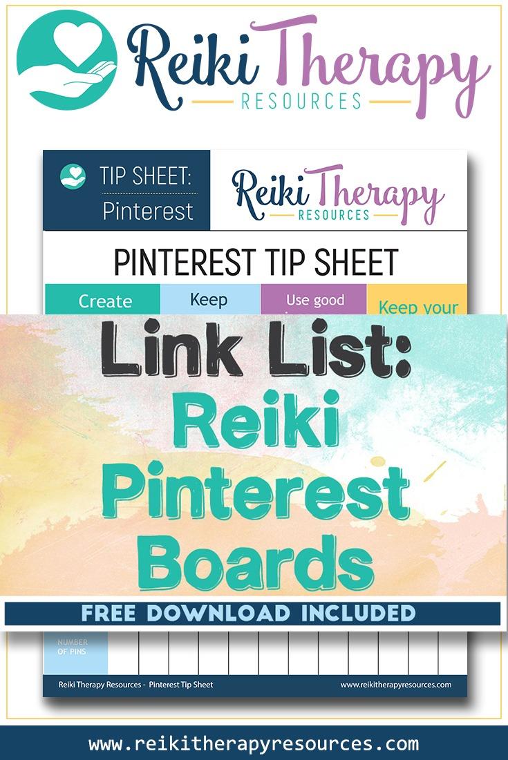 Reiki Pinterest Boards
