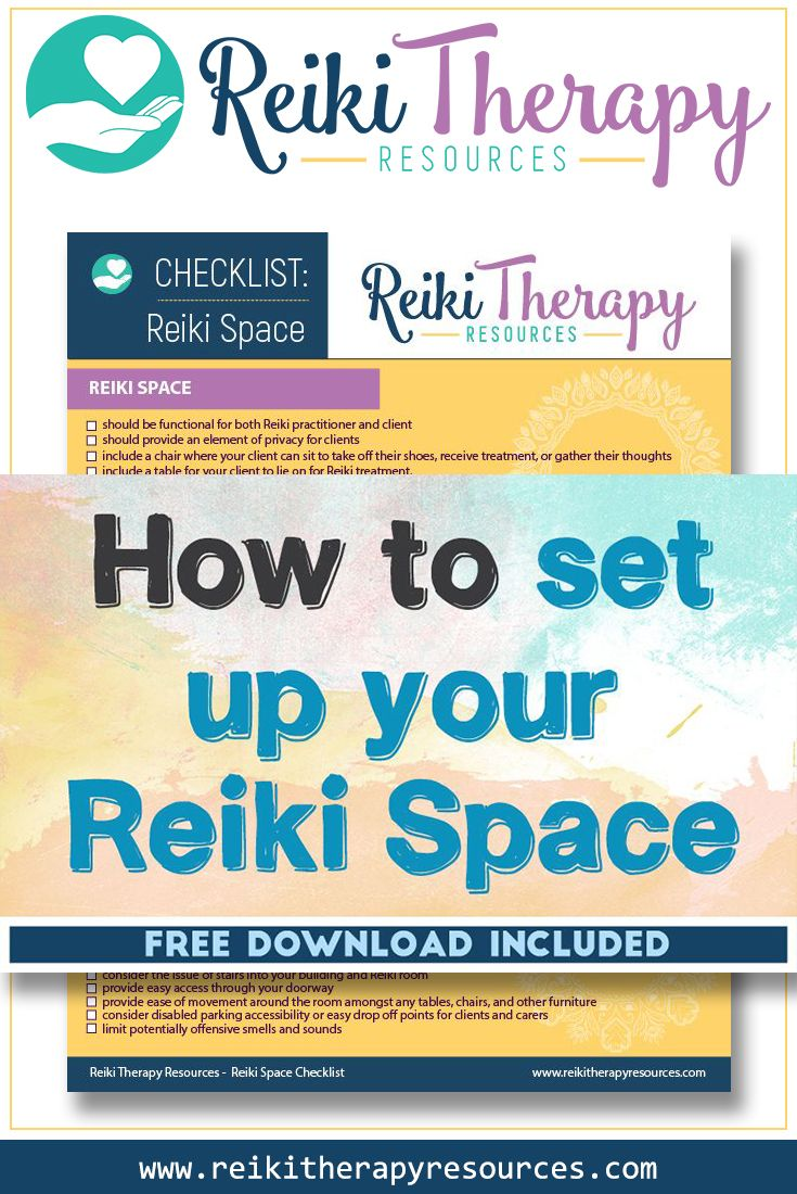 How to Set Up Your Reiki Space
