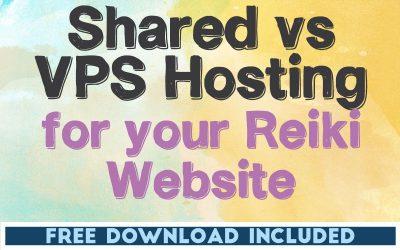 Shared vs VPS Hosting for Your Reiki Website