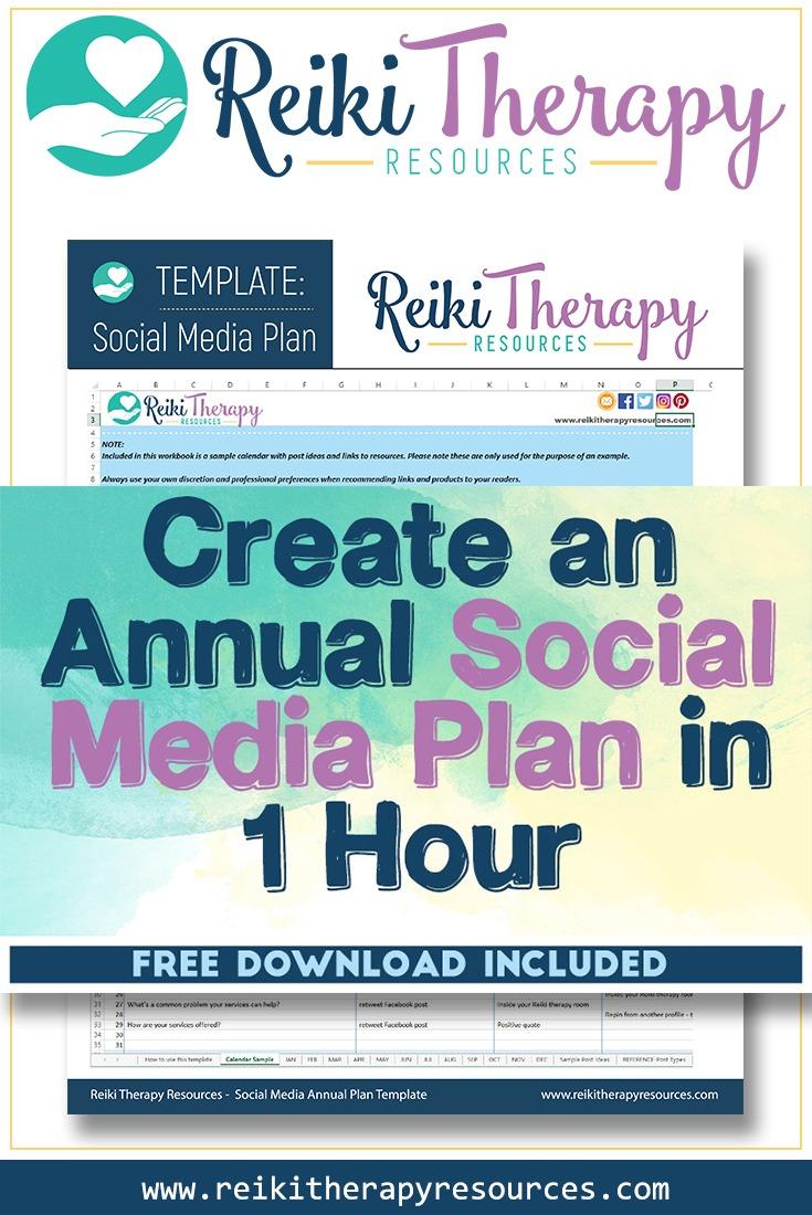 Create an Annual Social Media Plan in 1 Hour